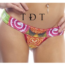 BodyZone Apparel Reversible Candy Comfort Strap T-Back Thong - RC005 - FREE SHIPPING