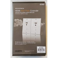 Monoprice HDMI Over Cat5e/Cat6 Extender Wall Plate with LED Indicator - FREE SHIPPING