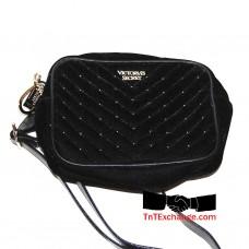 Victoria's Secret Velvet Studded Shoulder Bag - 11147710 - FREE SHIPPING